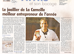 News and press articles about Fabrice Leroy - Atelier ... Daily Express